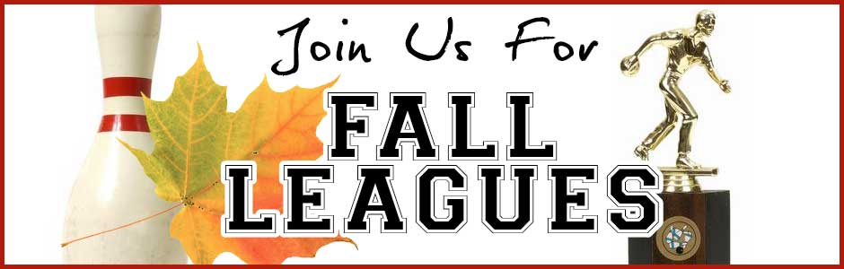 Cardinal Lanes Fall Bowling Leagues